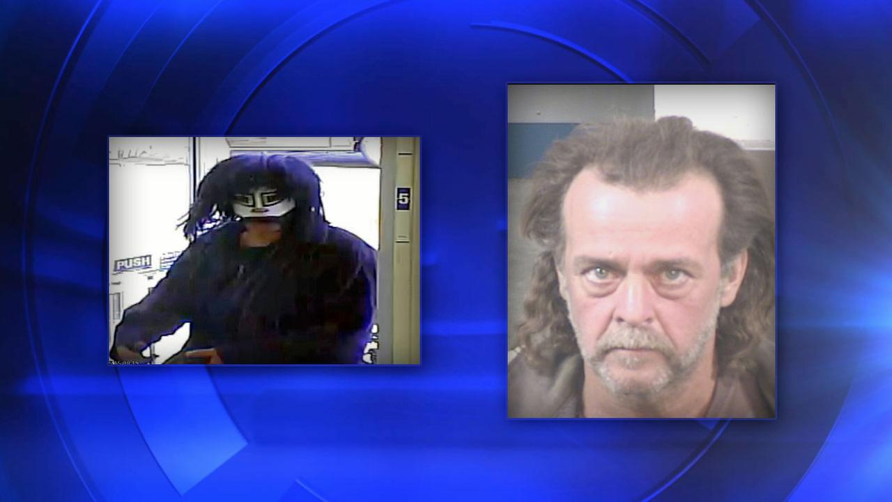 Bank robbery suspect 49-year-old Lewis Duncan Tyler of Fresno