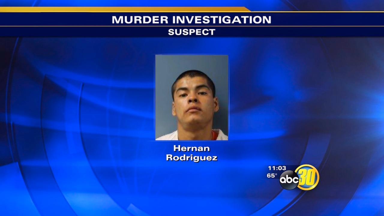 Homicide suspect Hernan Rodriguez