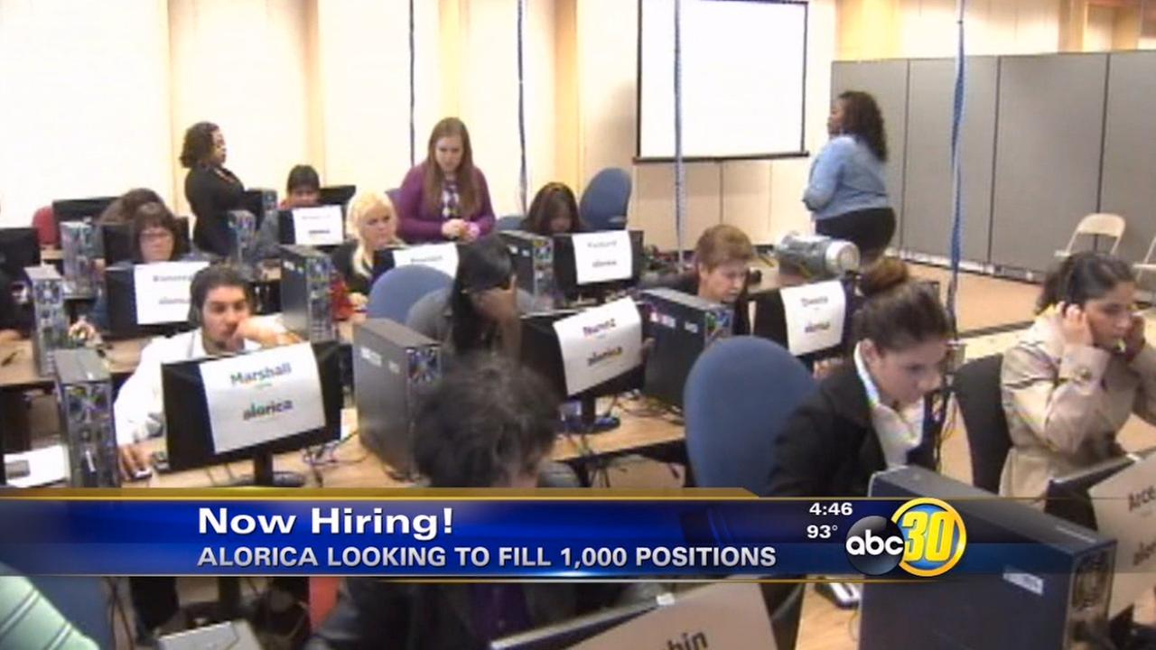 Alorica hiring in Fresno and Clovis