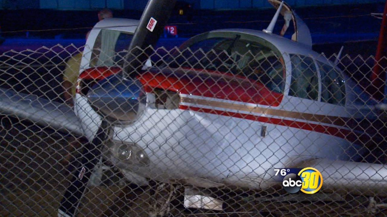 Pilot survives plane crash at Fresnos Chandler Airport