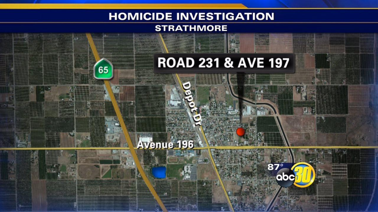 Tulare County Sheriffs Deputies were called to a home on Road 231 near Avenue 197 in Strathmore early Sunday morning.