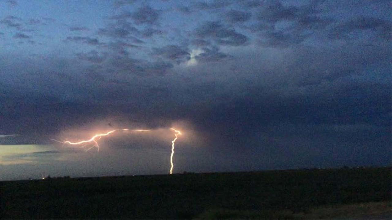 Lightning in Riverdale