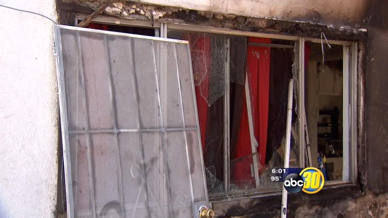 Atwater apartment fire prompts arson investigation