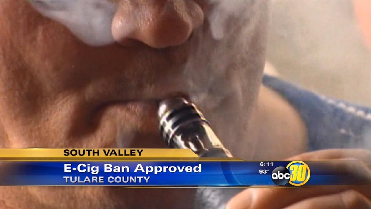 Tulare County supervisors approve electronic cigarette ban