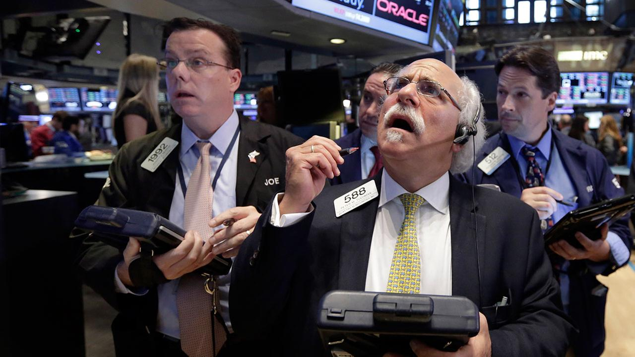U.S. stock markets plunged in early trading Monday following a big drop in Chinese stocks.