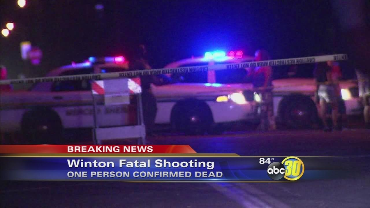 Man shot and killed in Winton, 2nd shooting death on same day