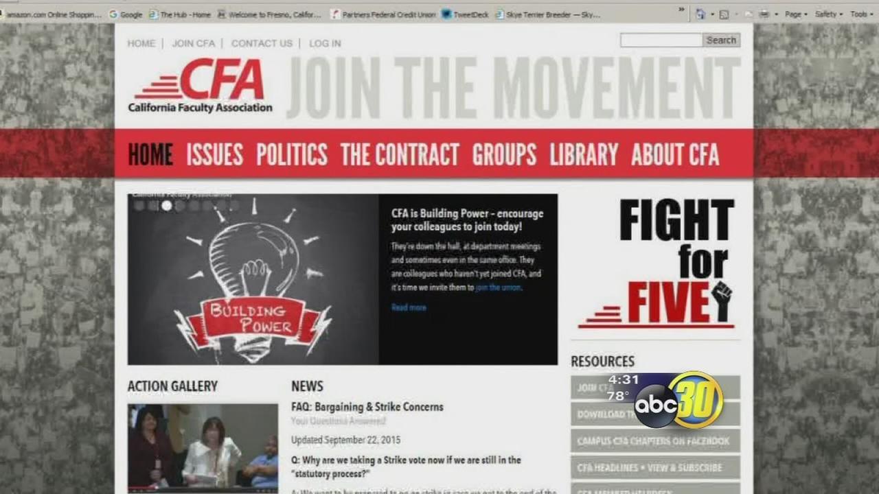 CSU faculty threaten strike unless 5 percent salary increase met
