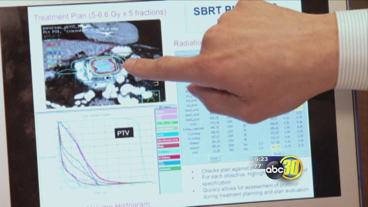 Doctors using effective new treatment for pancreatic cancer patience
