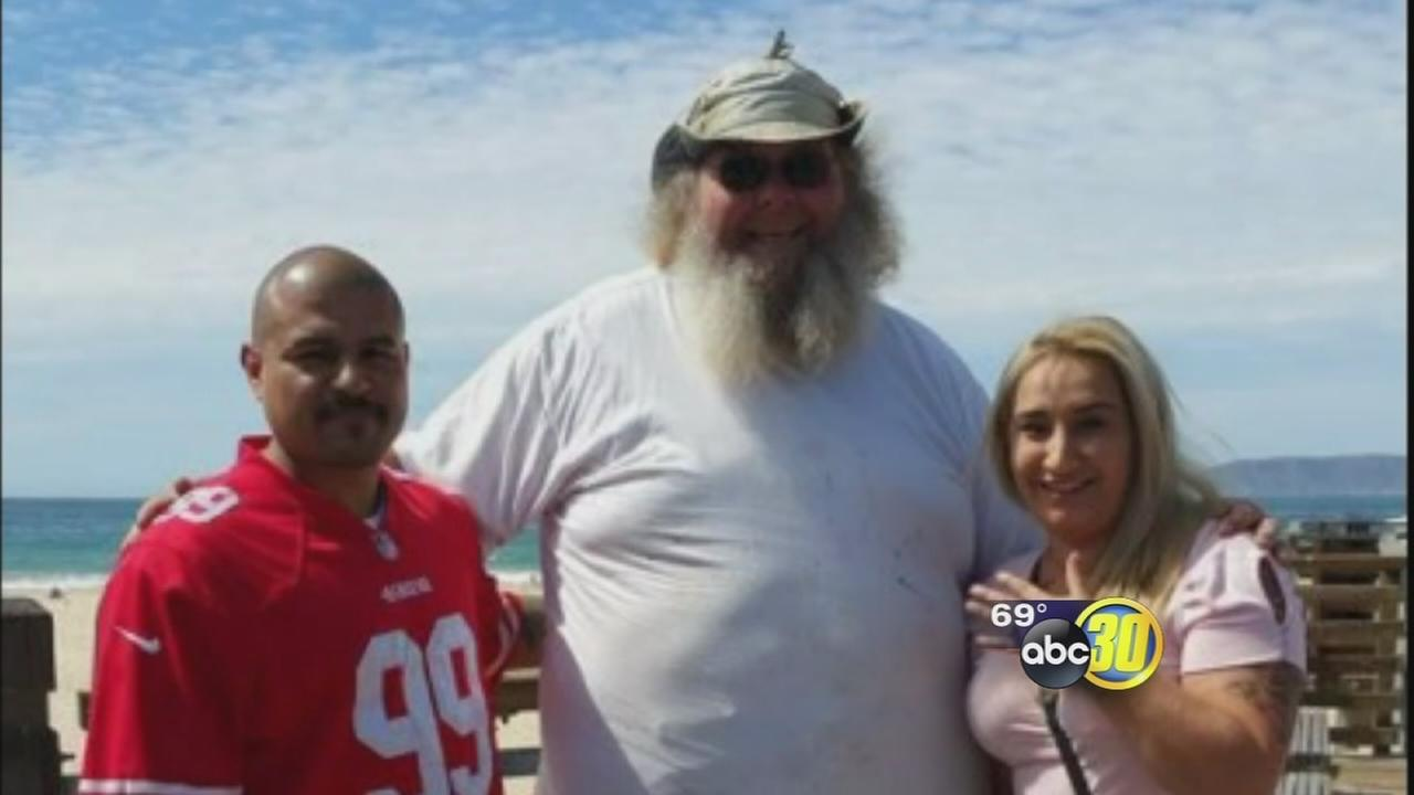 Visalia womans lost wedding ring found by Larry the Ring Finder at Shell Beach