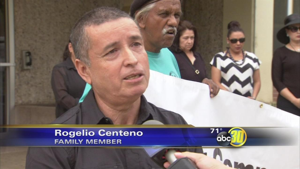 Family members protest deadly force from Fresno police