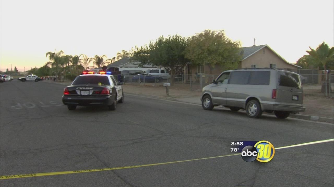 Man injured in Orange Cove shooting, suspect at large