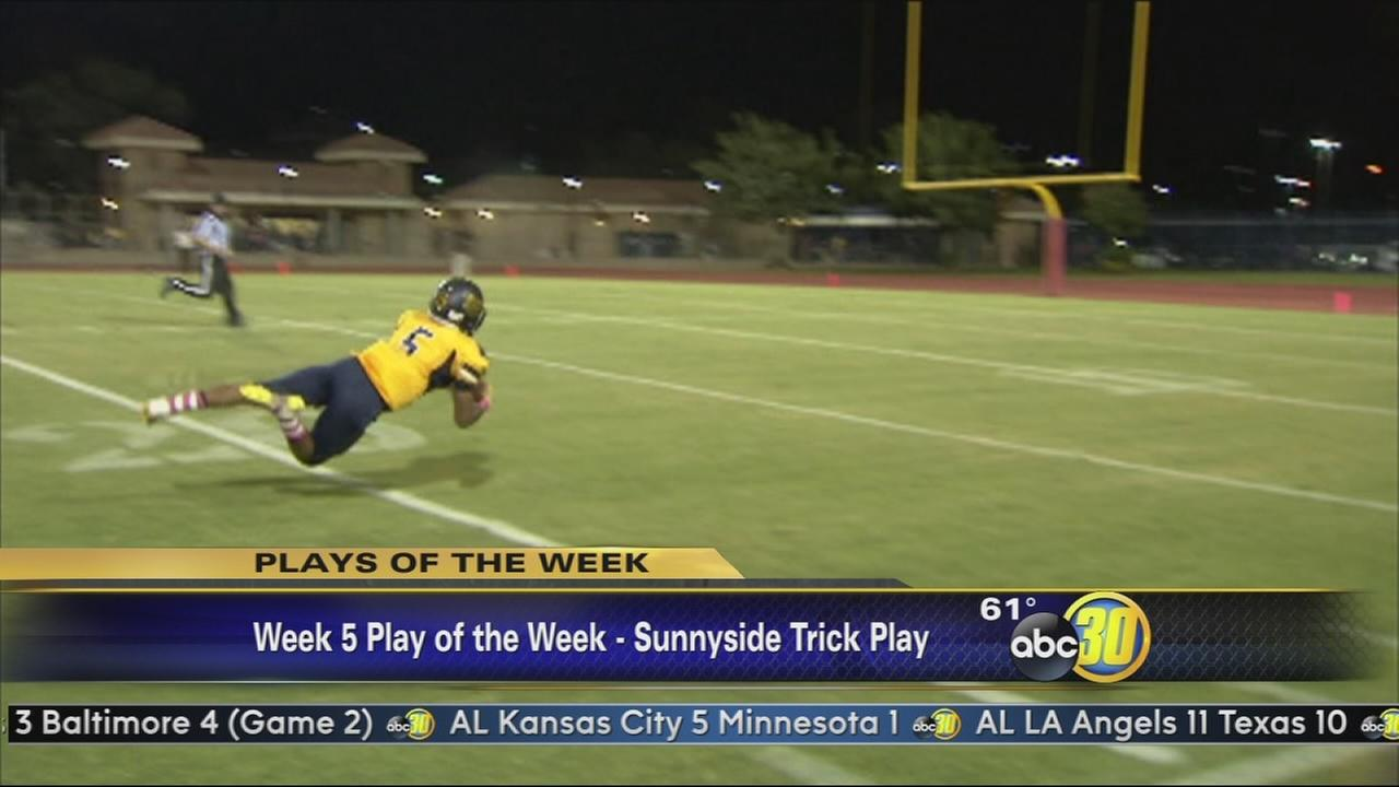 Play of the Week - Sunnyside Trick Play