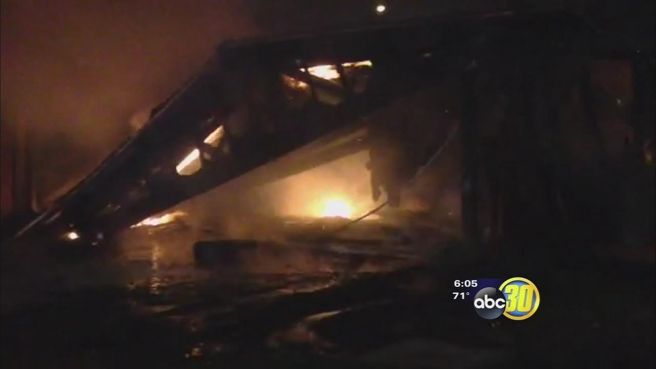 Family left homeless after early morning fire destroys their duplex