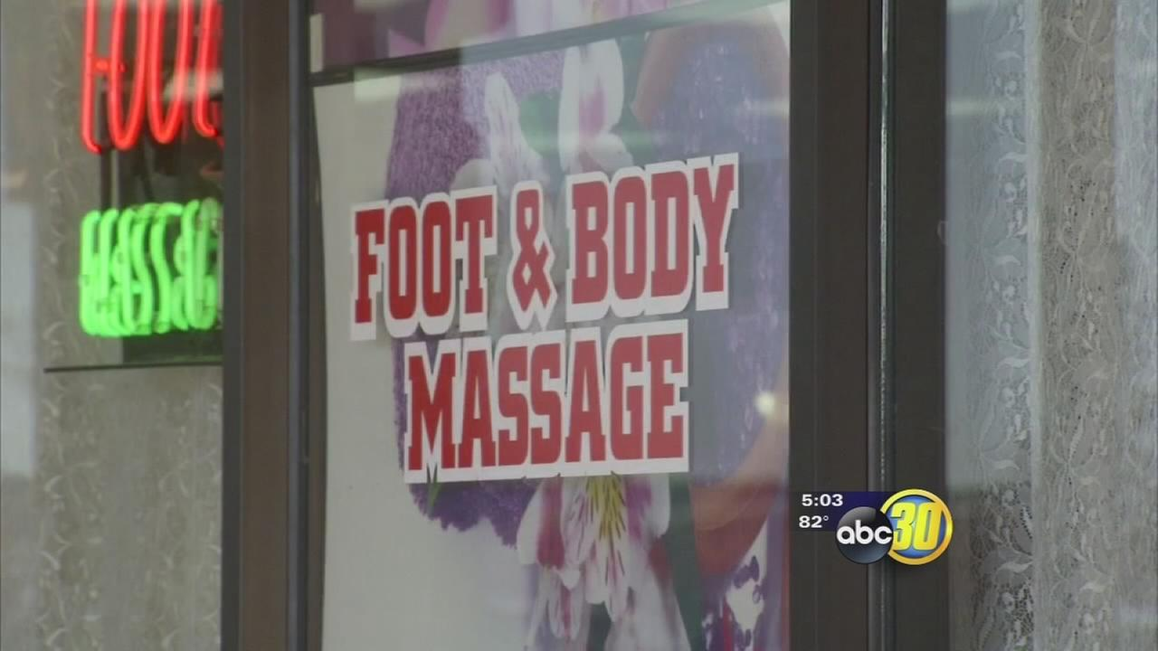 Prostitution bust at 4 different Porterville massage parlors