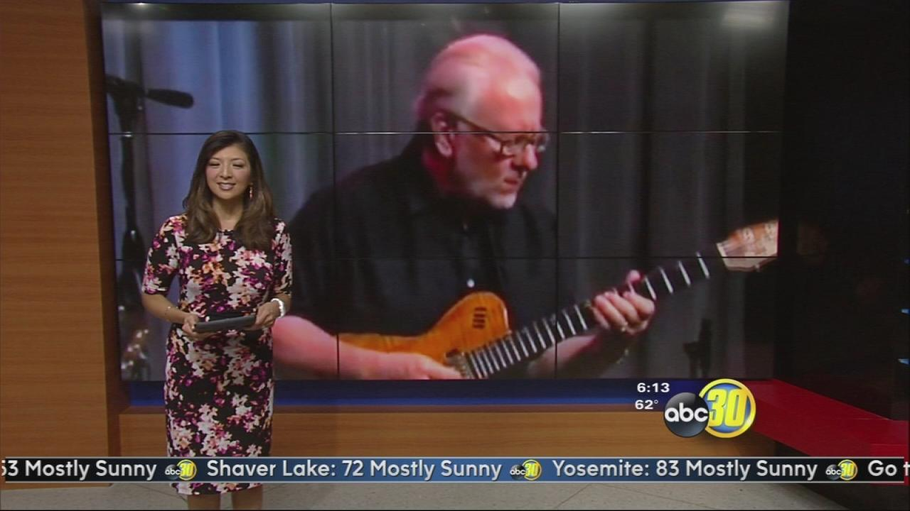 A Fresno City College music instructor is up for a Grammy!