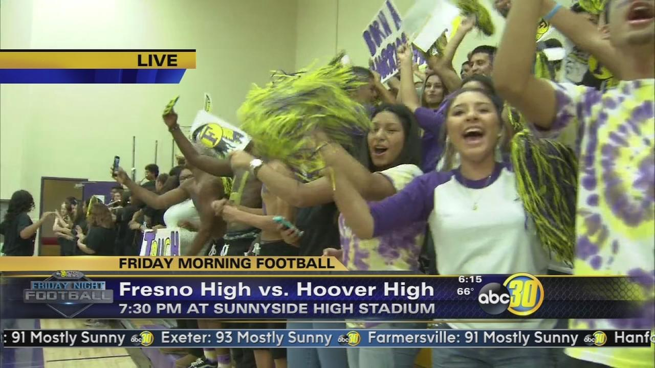 Friday Morning Football - Fresno High Warriors