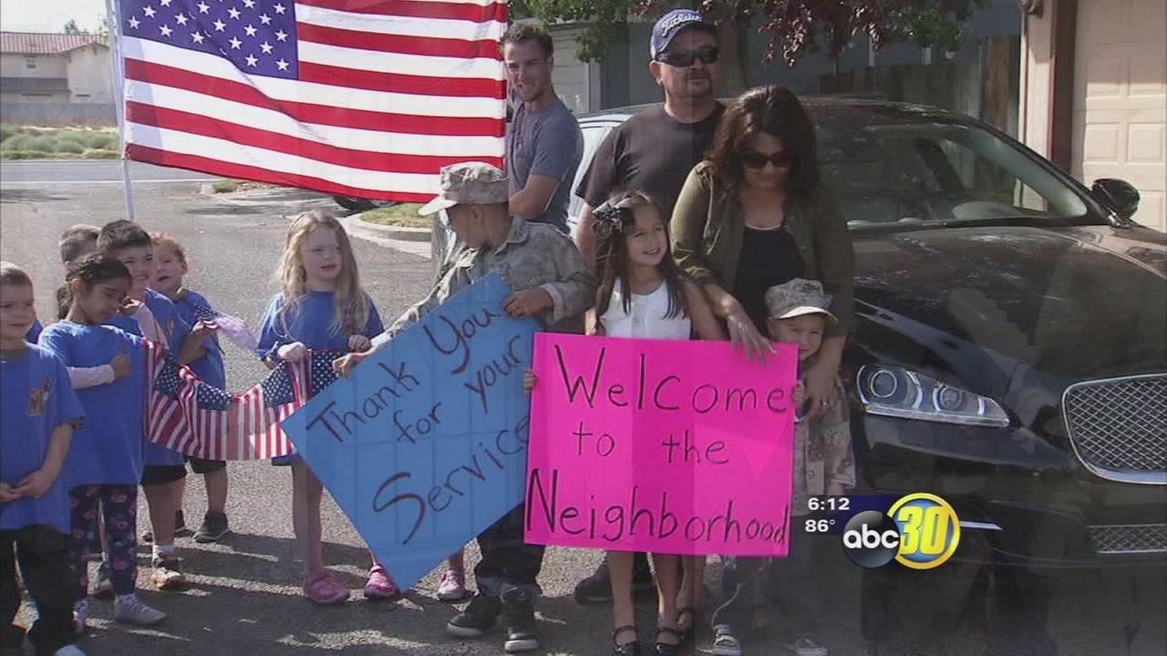 Madera veteran receives a mortgage free home