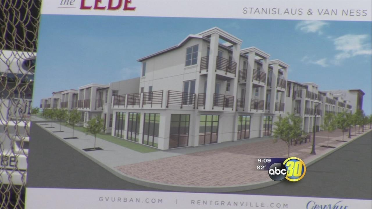 Granville shows off new Downtown Fresno project