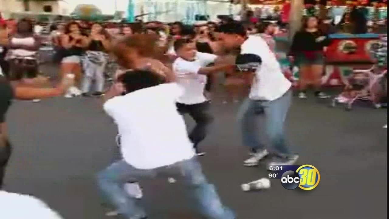 Brawl at the Big Fresno Fair goes viral