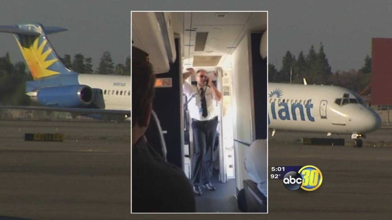 Fresno bound Allegiant Airlines flight evacuated