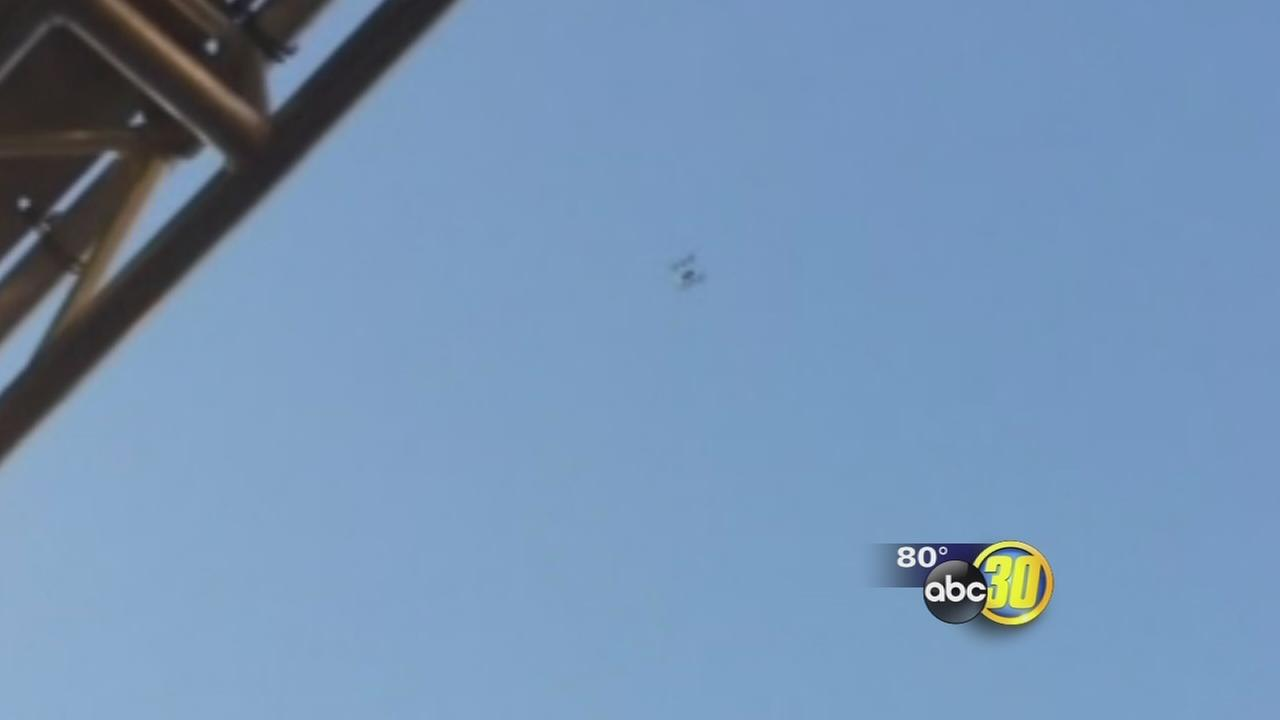 Drone sighting over Big Fresno Fair
