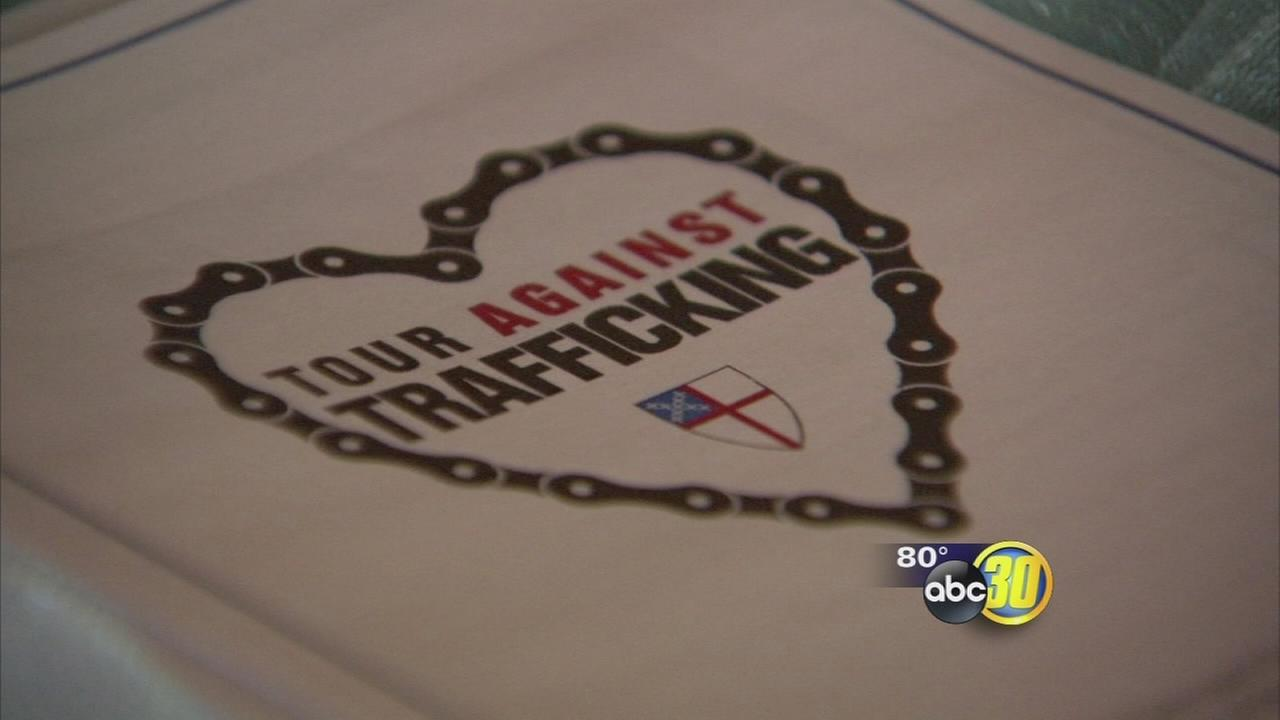 Prayer service at a Fresno church to help combat human trafficking
