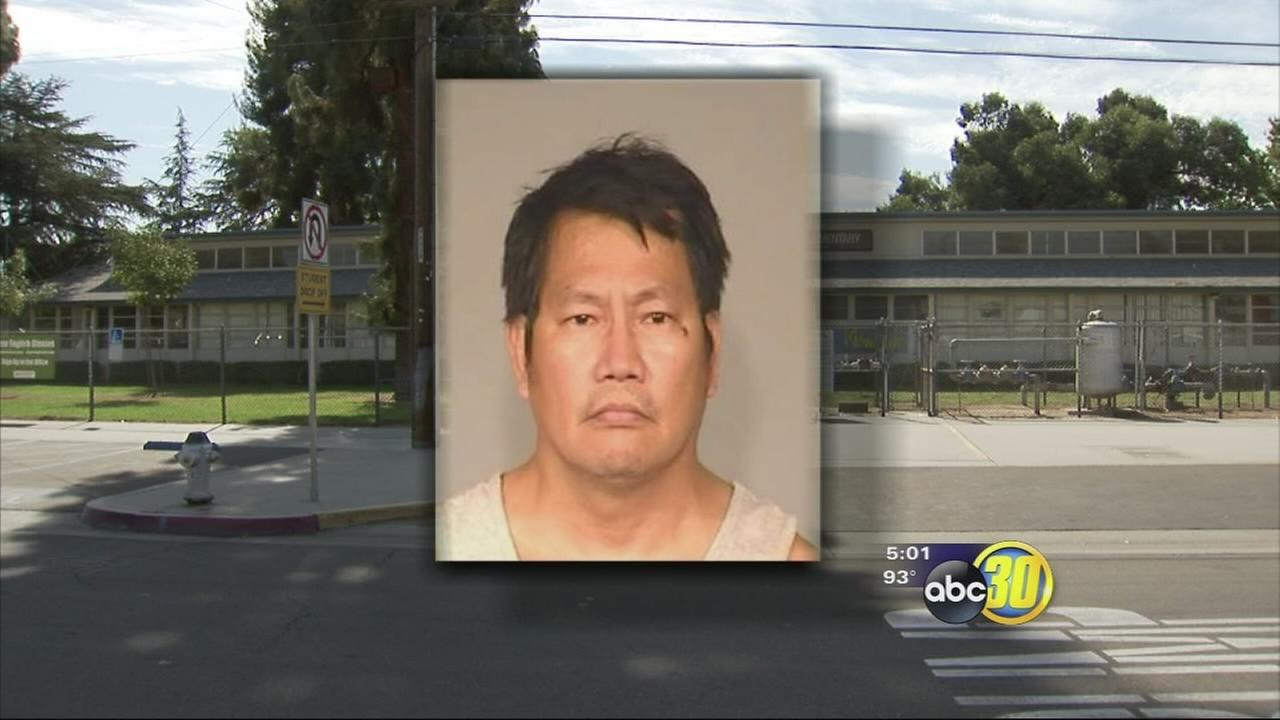 Fresno Unified Janitor arrested for inappropriatly touching students