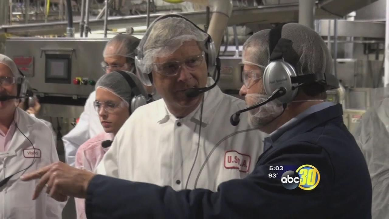 US Agriculture Secretary makes a stop in the Valley