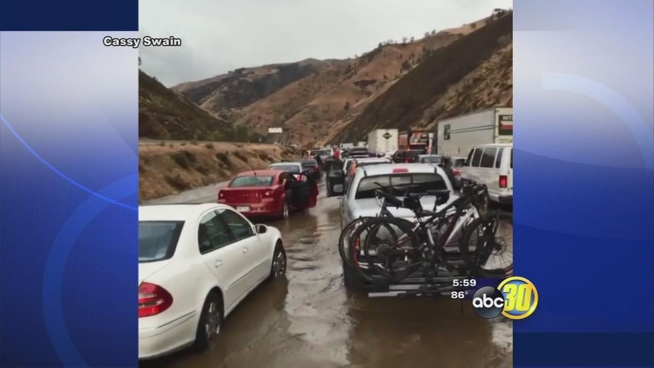 I5 Shutdown due to mudslide