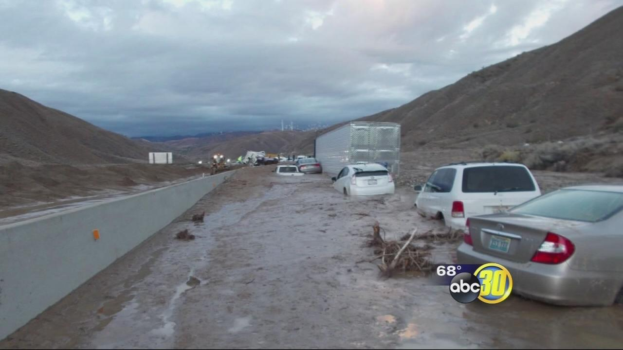 Valley travelers recall mudslide ordeals in SoCal