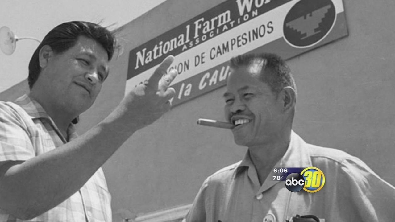 Filipino labor leader honored