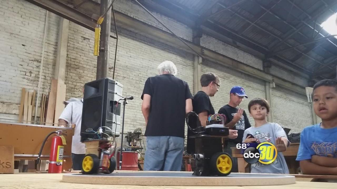 Fresno Ideaworks holds robot competition in Downtown Fresno