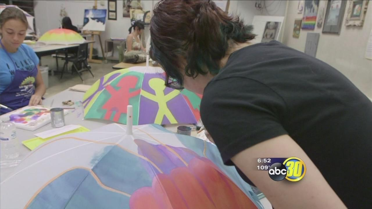 Valley Works: Art students get support from business community