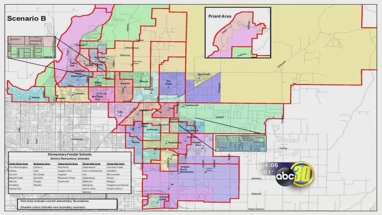 Clovis Unified considering new school attendance boundaries abc30com