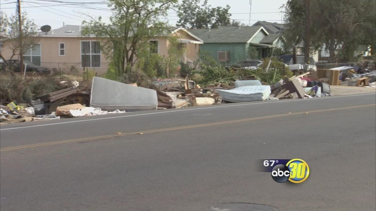 Streets clogged with debris lead Fresno city officials to reassess Operation Clean Up