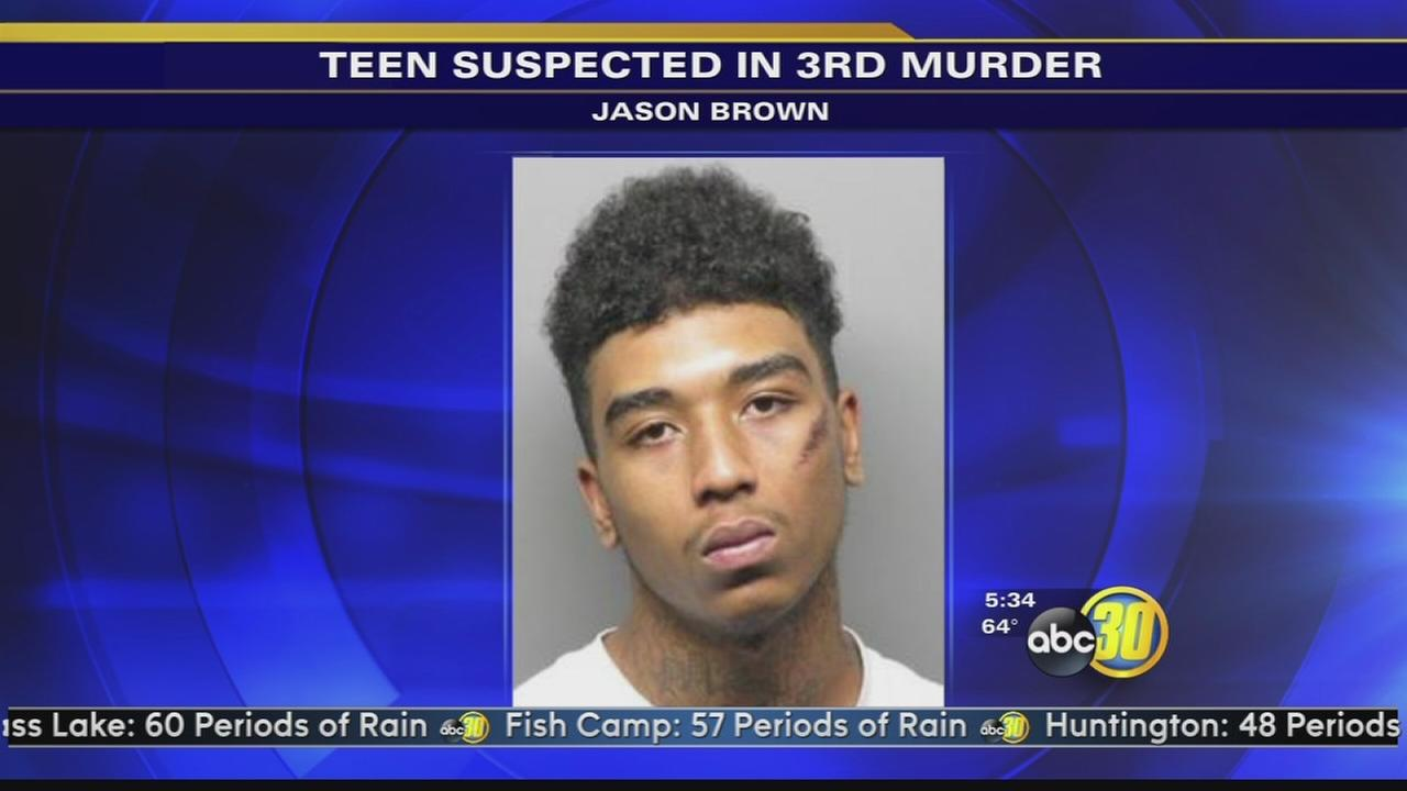 18-year-old Jason Brown suspected in 3rd murder