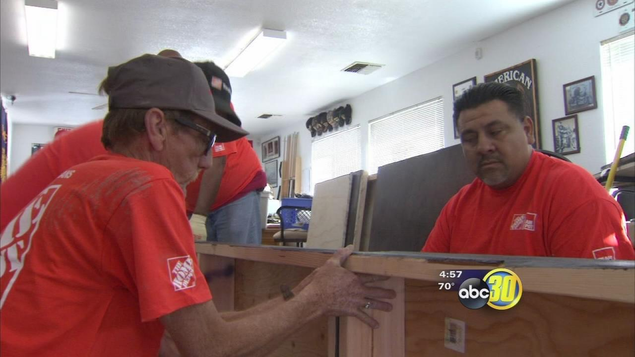 Volunteers give Madera American Legion post a much needed face-lift