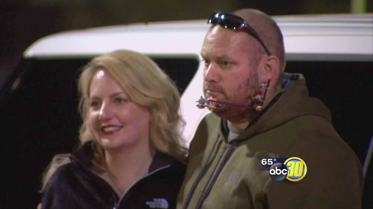 Mariposa community rallies around Deputy Rudy Mirelez at football game