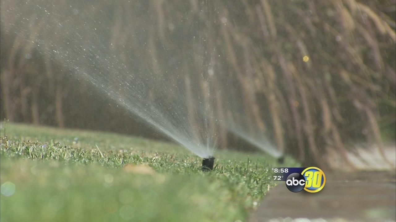 Fresno winter water schedule starts early