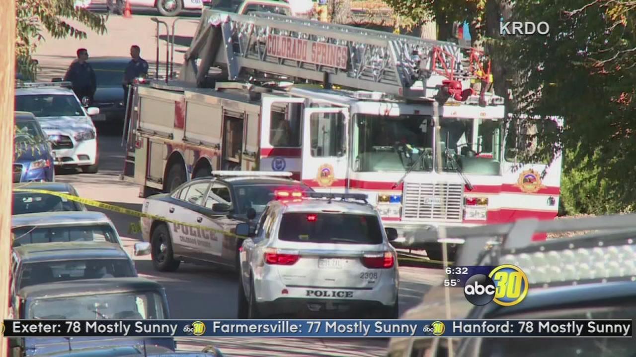 Witnesses describe gunmans rampage in Colorado Springs