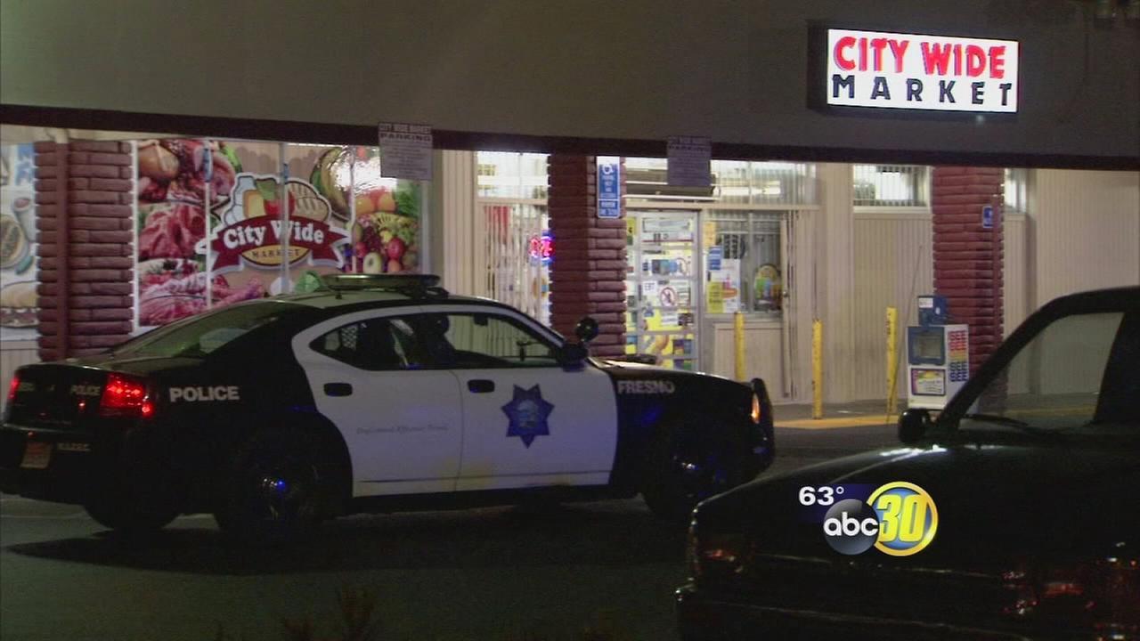 Man shot outside of City Wide Market in Central Fresno