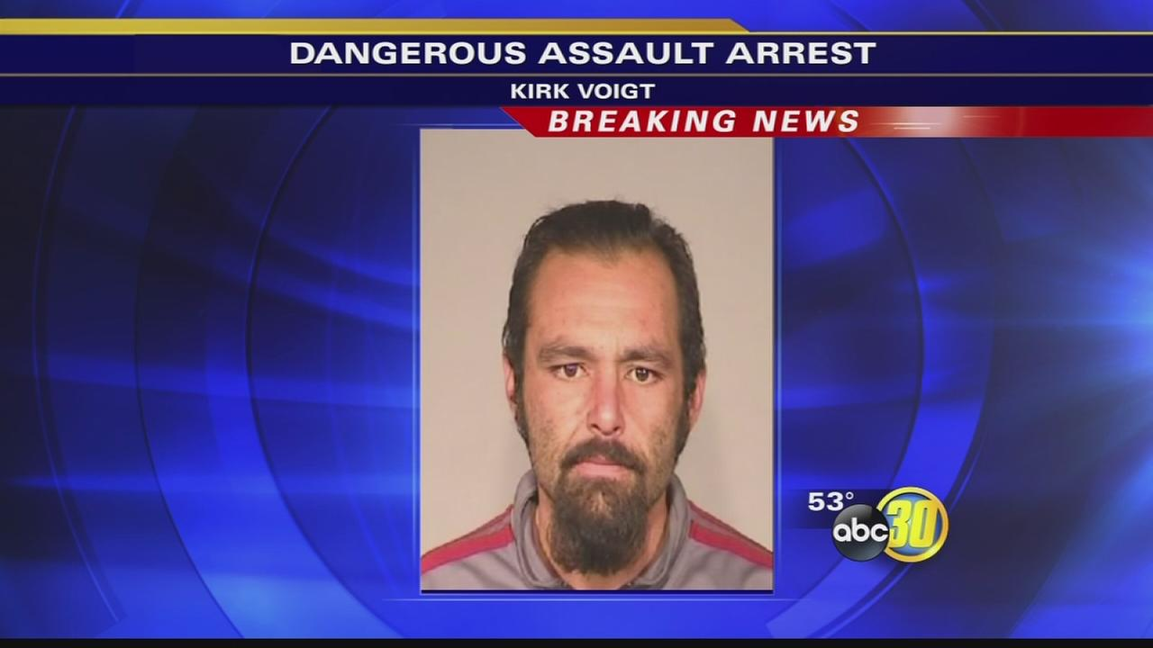 Suspect arrested for beating a homeless man