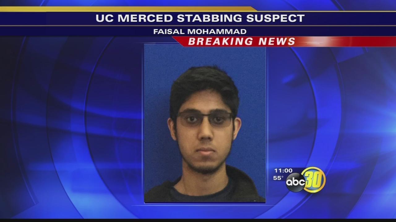 UC Merced stabbing suspect identified