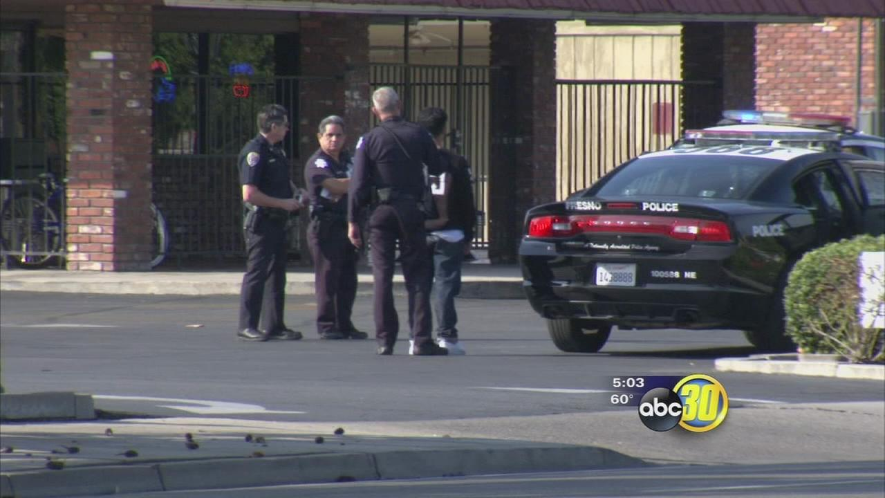 2 Juveniles arrested after 2 armed robberies in northeast Fresno