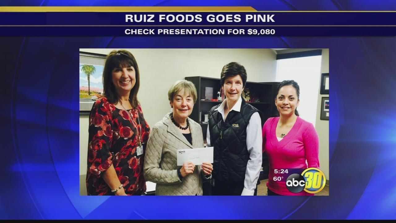 Ruiz Foods goes pink