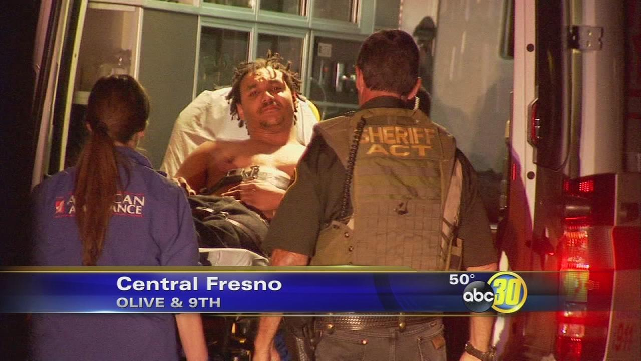 Fresno suspect hides in refrigerator during standoff, police say
