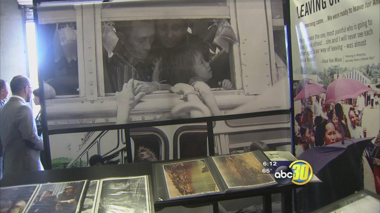 HmongStory 40 exhibit nearly ready at Fresno Fairgrounds