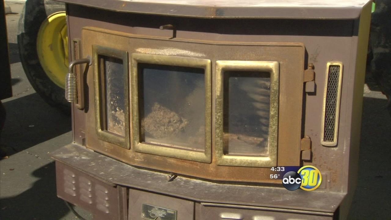 Valley Air District offering vouchers to help people replace their fireplace or wood burning stove
