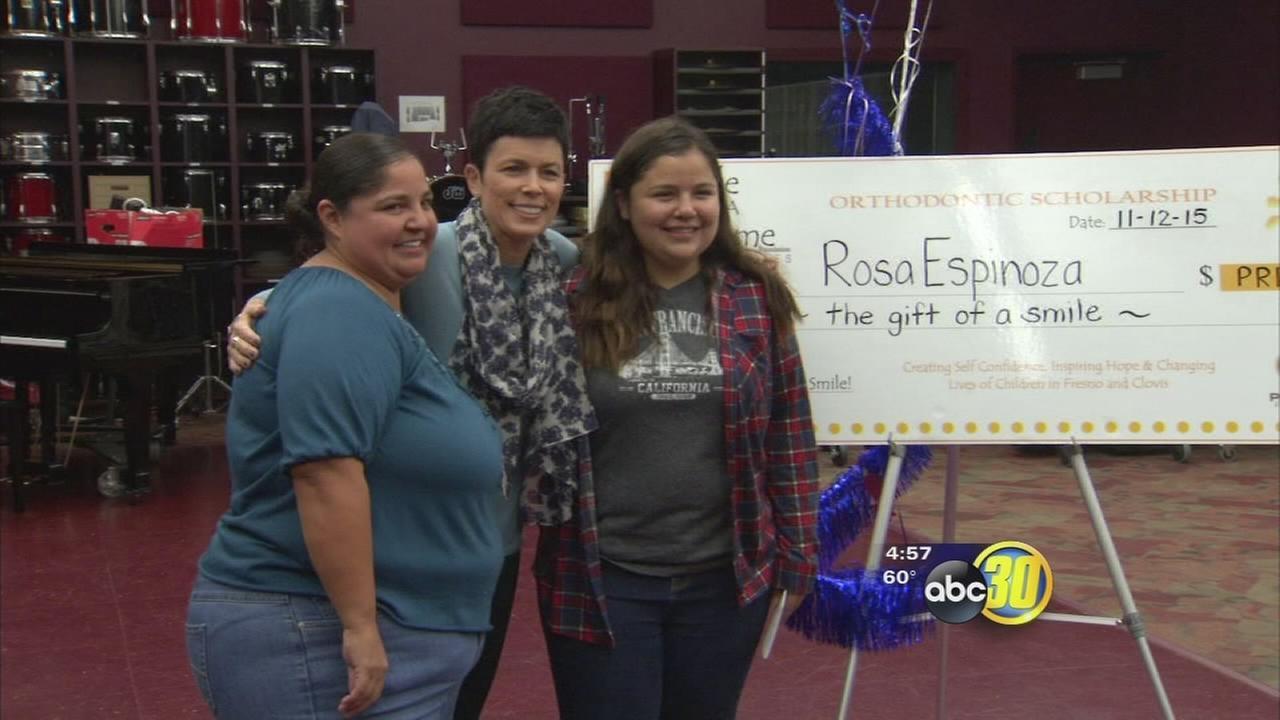 Fresno teen given a reason to smile