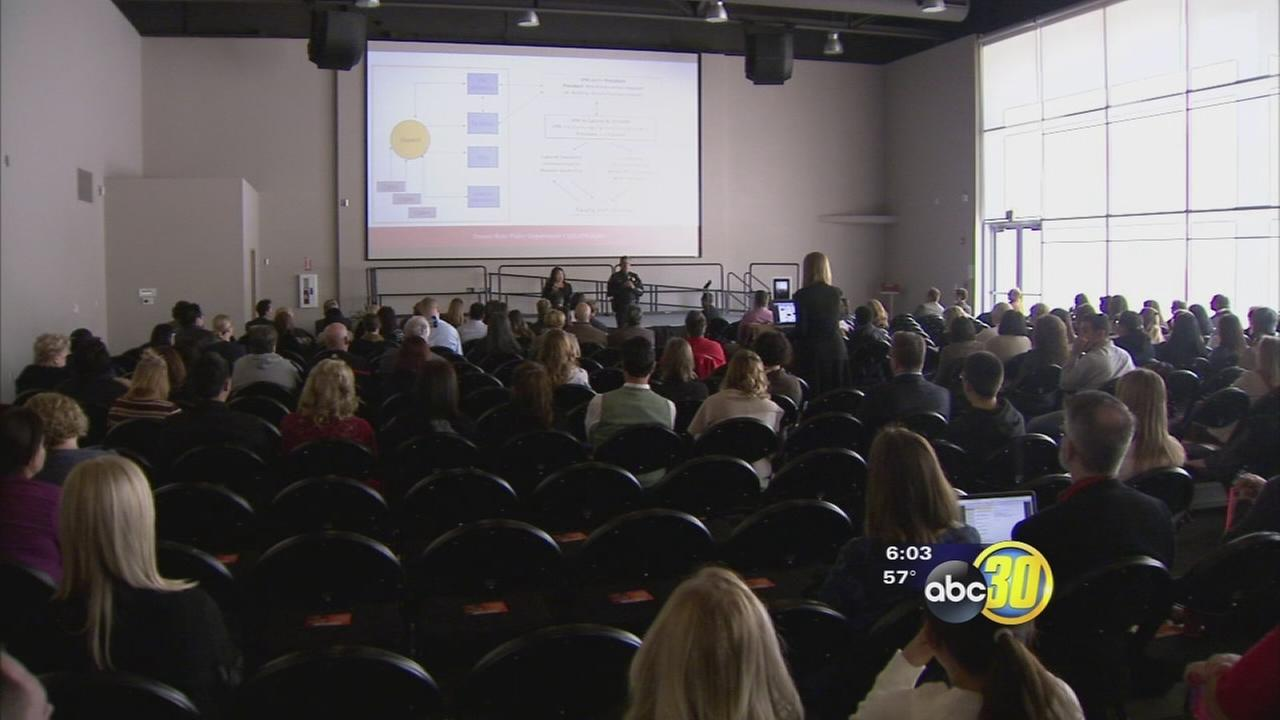 Fresno State holds a meeting with students and staff about safety